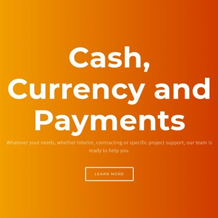 screenshot of cash currency and payments ltd